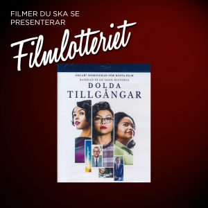 "Vi lottar ut ""Hidden Figures"""