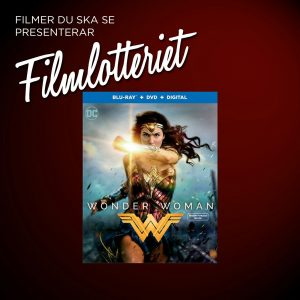 "Vi lottar ut ""Wonder Woman"""