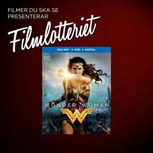 "Vi lottar ut ""Wonder Woman"""