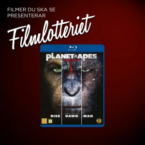 "Vi lottar ut ""Planet of the Apes-Trilogy"""