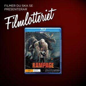 """Vi lottar ut """"Rampage"""""""