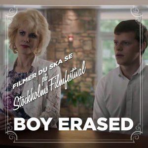 Stockholms Filmfestival: Boy Erased – Recension